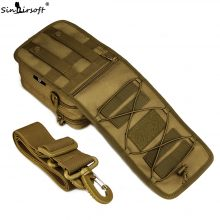 Tactical Military Messenger Bag Shoulder Nylon Outdoor Sport Fishing Camping Crossbody Mutil-function Molle Pouch Bags Mochila