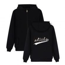 Hoodies With Zipper Hooded Sweatshirts Handwritten Illuminate