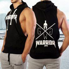Autumn Men Hoodies Sweatshirt Fashion  Military Tracksuit Casual Pullover Male Sleeveless hoodie