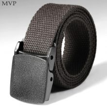 Mens Belt Automatic Buckle Nylon Army Tactical  Mens Military Adjustable Waist Canvas Belts Outdoor Sports Camping