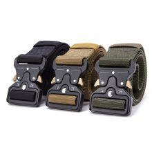 Hot Mens Tactical Military Nylon Belt Outdoor multifunctional Training High Quality Strap ceintures
