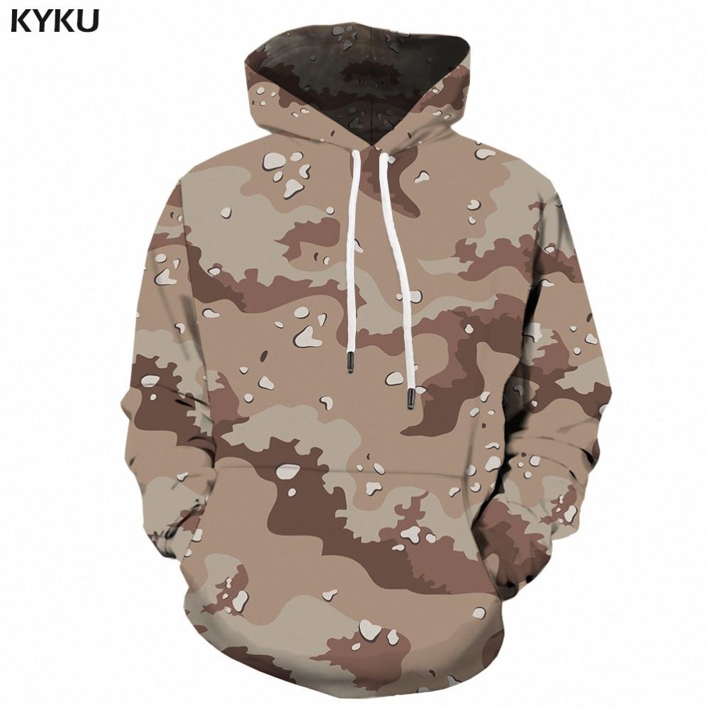 b367a0c9e6377 Grey Camo Hoodie Men Camouflage Sweatshirt Harajuku 3d Printed Hoodies  Anime Clothes Retro Military
